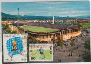 54410 - FOOTBALL - ITALY -  POSTAL HISTORY:  POSTCARD 1988