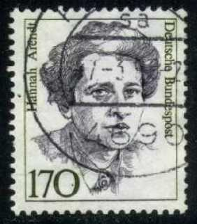 Germany #1489 Hannah Arendt, used (1.10)