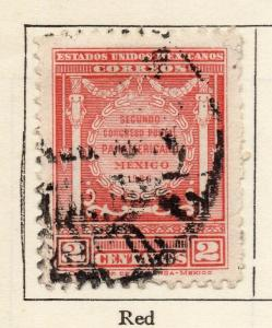 Mexico 1926 Early Issue Fine Used 2c. 309840
