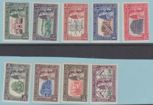 INDIA JAIPUR MNH 49 -57 ** NO FAULTS EXTRA FINE !
