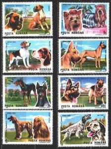 Romania. 1990. 4603-10. Dogs. MNH.