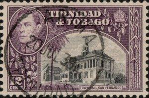 TRINIDAD & TOBAGO - 1939 (Jul 20) - ARIMA/TRINIDAD CDS on SG252 - Ref.833g