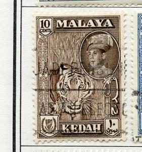 Malaya Kedah USED H Scott Cat. # 100