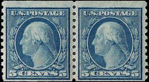 496 Mint,OG,H... Pair... SCV $8.00