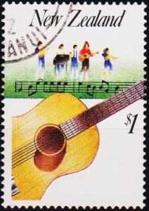 New Zealand. 1986 $1 S.G.1410  Fine Used