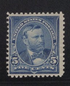 US Stamp Scott #281 Mint Previously Hinged SCV $32.50