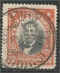 CHILE, 1911, used 20c, Bulnes, Scott 105