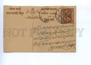 196245 INDIA JAIPUR 1949 year RPPC