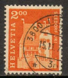 Switzerland   #452  Used  (1967)  c.v. $0.40
