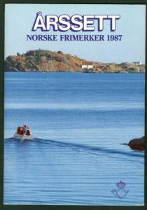 NORWAY 1987 OFFICIAL YEARSET