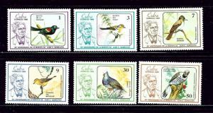 Cuba 2842-47 MNH 1986 Birds