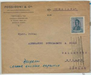 66391 - ARGENTINA - Postal History - SPECIAL POSTMARK on COVER: FLAGS