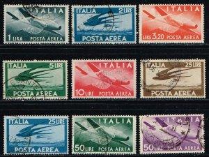 Italy # C106 - C114  Used