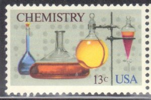 USA SCOTT #1685    CHEMISTRY 1976   13c SEE SCAN