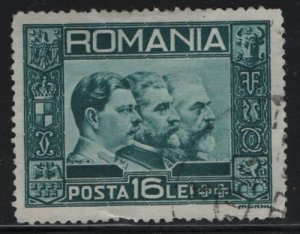 ROMANIA, 403, USED, 1935-40 King Carol II, Ferdinand, King Carol I