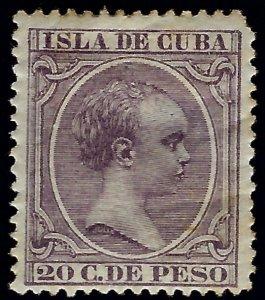 Cuba SC#153 Mint F-VF hr SCV$15.00....A World of Stamps!