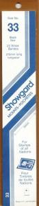 SHOWGARD BLACK MOUNTS 215/33 (22) RETAIL PRICE $9.75