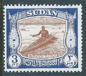 Sudan, Sc #106, 3pi MNG