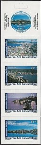 NEW ZEALAND Universal Mail $7.50 International Mail Booklet - Wellington....R501