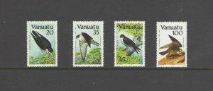 VANUATU:  Sc.388-91 /***BIRDS-FALCON**/ Complete Set   / MNH