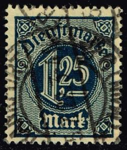 Germany #O11 Official - Numeral; CTO (0.25)