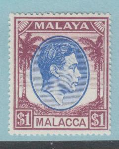 MALACCA 15  MINT HINGED OG * NO FAULTS EXTRA FINE !