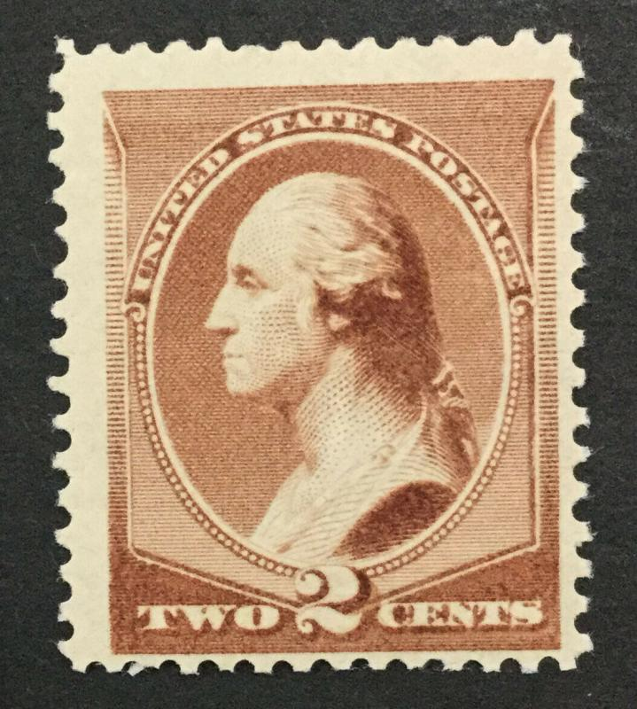 MOMEN: US #210 MINT OG NH #28214