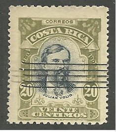 Costa Rica  Scott#  74   Mint