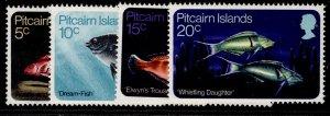 PITCAIRN ISLANDS QEII SG111-114, complete set, NH MINT.