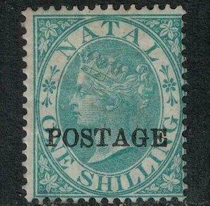 Natal 1875 SC 50 Mint