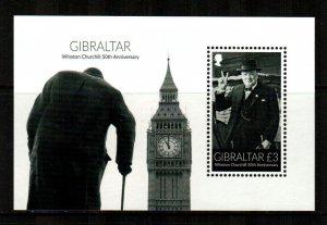 Gibraltar #1508  MNH  Scott $7.00   Souvenir Sheet