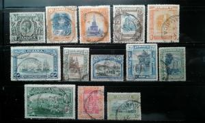 Jamaica #88-100,89a used e192.3560