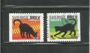 #2631 a-b Black Cats