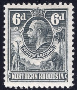 NORTHERN RHODESIA SCOTT 7