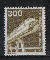 Germany  Berlin 1982  MNH  Industry and technology 300 Pf #