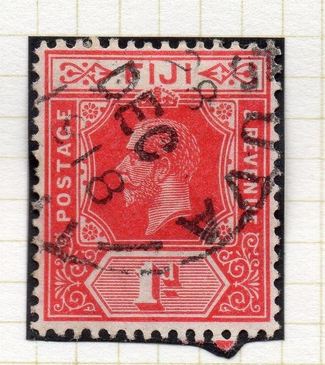 Fiji 1912-23 Early Issue Fine Used 1d. 029888