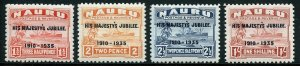 NAURU SCOTT#31/34  MINT  HINGED --SCOTT VALUE $5.00