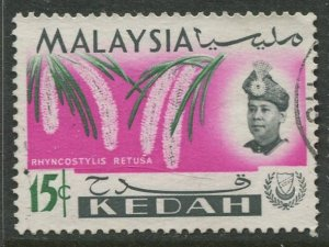 STAMP STATION PERTH Kedah #111 Sultan Abdul Halim Used 1965