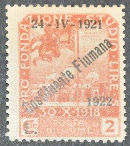 DYNAMITE Stamps: Fiume Scott #169 – MINT