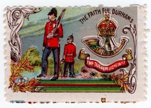 (I.B) Cinderella : Delandre Great War Regiments - Durham Light Infantry