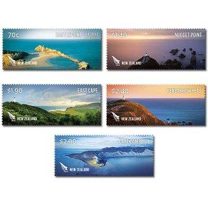 2013  NEW ZEALAND  SG: 3489/93 - COASTLINES SET - UNMOUNTED MINT