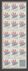 U.S. Scott #3268c American Flag 'H' Hat Stamps - Mint NH Booklet