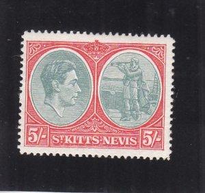 St. Kitts & Nevis: Sc #88, MH (35827)