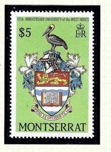 Montserrat 697 MNH 1988 40th annive of Univ of West Indies