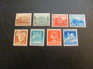GERMANY 1941 MNH  SC# 498-505 2 SETS  (113)