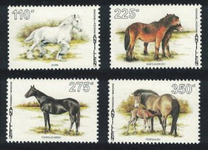Neth. Antilles Horses 4v SG#1197-1200