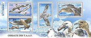 Scott #547 Birds S/S MNH