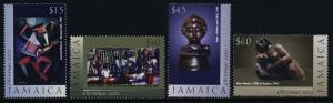 Jamaica 961-4 MNH Christmas, Art, Sculpture