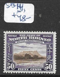 NORTH BORNEO (P2805B)  50C   SG 314   MOG