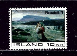 Iceland 428 Used 1971 issue